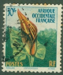 FRENCH WEST AFRICA 81 USED BIN$ 1.20