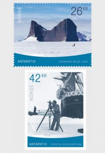 2019 Norway Antarctica (2) (Scott NA) MNH