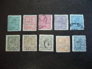 Stamps - Cuba - Scott# 253-262 - Used Set of 10 Stamps