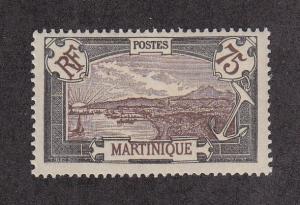 Martinique Scott #89 MH