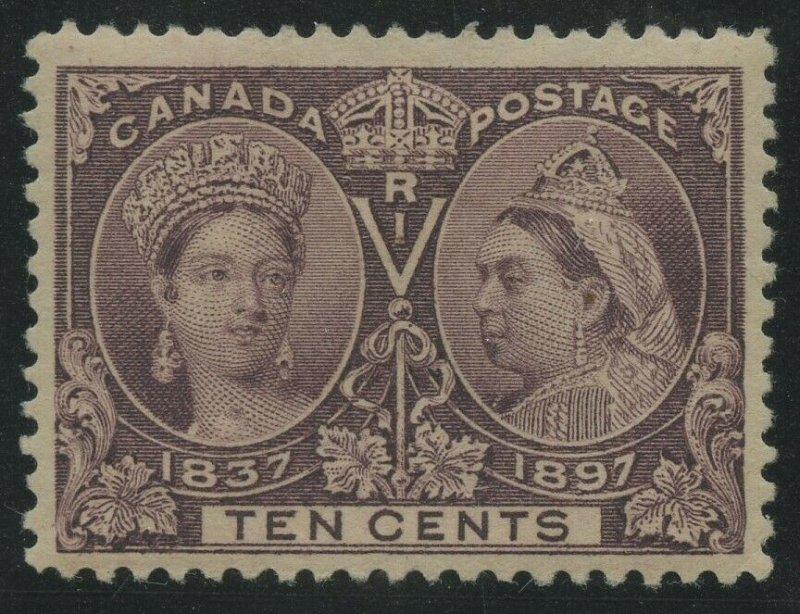 CANADA #57 VF OG HR CV $160 BV2110