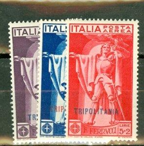 P: Tripolitania C1-3 MNH CV $72.50