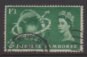 Great Britain Sc#336 Used