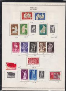 romania issues of 1960-61 stamps page ref 18289