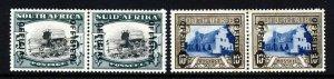 SOUTH AFRICA 1940 OFFICIALS Overprinted High Values Set SG O28 & SG O29 MINT