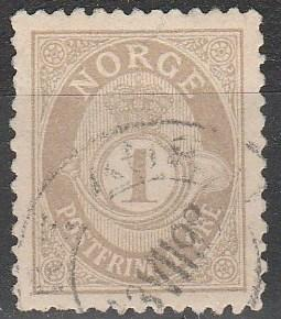 Norway #47a F-VF Used  CV $45.00 (A1963)
