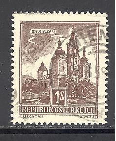 Austria 621 used SCV $ 0.25 (DT)