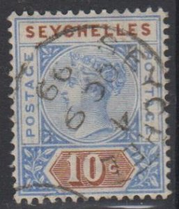 SEYCHELLES - Sc 7 / USED HR - Victoria