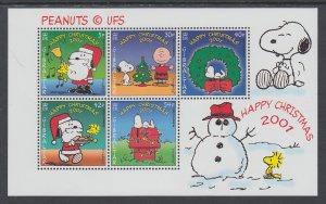 Gibraltar 894a Christmas Souvenir Sheet MNH VF