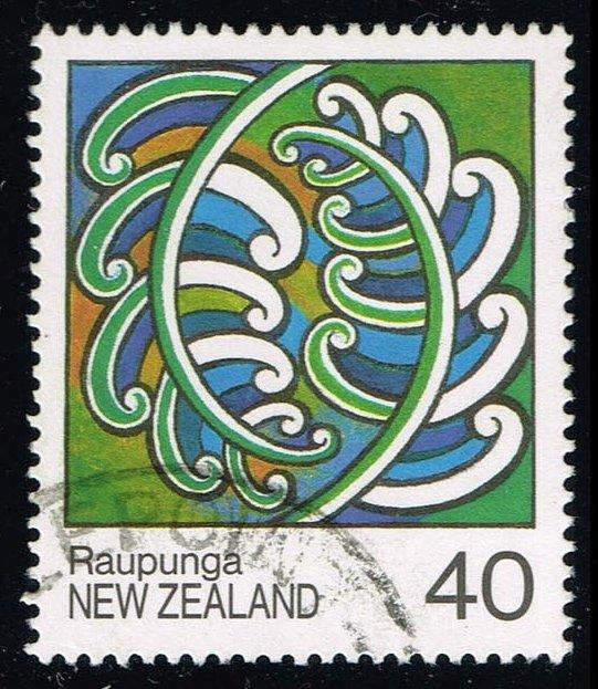 New Zealand #896 Maori Paintings; Used (0.65)