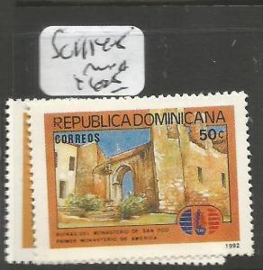 Dominican Republic SC 1114-5 MNH (3cqb)