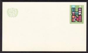 UN New York UX6 Unused Postal Card VF