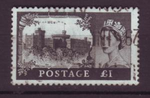 J18510 JLstamps 1959 great britian used #374 queen