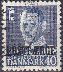Denmark #Q33 F-VF Used (K2986)