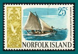 Norfolk Island 1968 Ships (series 3), 25c used  #110,SG87