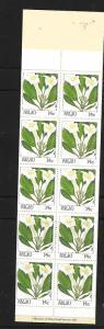 PALAU, 130a, MNH , FLOWERS