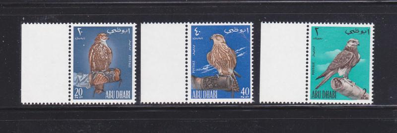 Abu Dhabi 12-14 Set MNH Birds (D)
