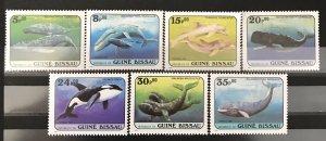 Guinea-Bissau 1984  #597-603, MNH, CV $11.95