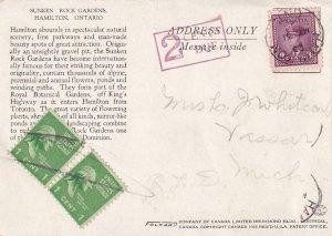 1931, Hamilton, Canada to Vassar, MI, Postage Due, See Remark (41483)