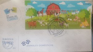 O) 2018 COLOMBIA, AMERICA UPAEP-DOMESTIC ANIMALS - PETS,  LANDSCAPE-PETS