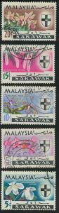 Sarawak 230-234 Used VF