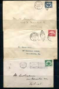 UNITED STATES C4-C6 FIRST DAY COVERS NEAT ITEMS