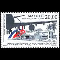 MAYOTTE 1997 - Scott# C1 Airport Set of 1 NH