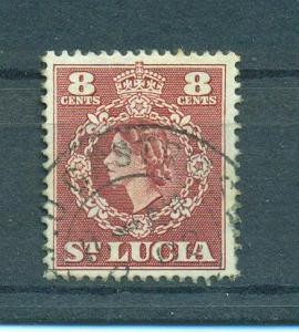 St. Lucia sc# 163 (2) used cat value $.25