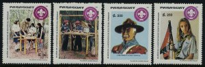 Paraguay 2465-8 MNH Boy Scouts, Girl Scouts, Flag, Lord Baden-Powell