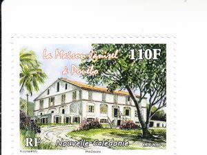 2016 New Caledonia Janisel Pouebo House (Scott 1214) MNH