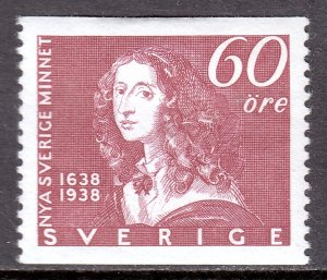 Sweden - Scott #272 - MH - Tiny thin LL - SCV $2.50