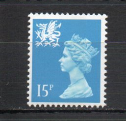 Great Britain - Wales WMMH26 MNH