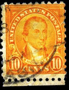 United States - SC #591 Fault - used - 1925 - Item USA021