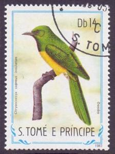 St. Thomas and Prince  1983  used  738  birds  14d.     #