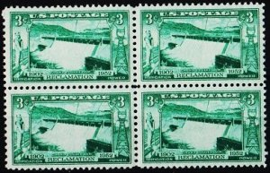 U.S.A. 1952 3c(Block of 4) S.G.1006 Unmounted Mint