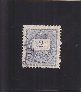 Hungary: Sc #23j, Perf 11.5, WMK 132, Used (S18127)