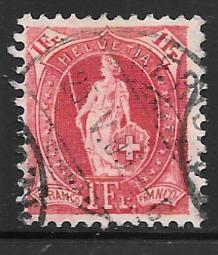 Switzerland 97 used 2013 SCV $11.00   -  2823