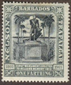 Barbados #102 MH Lord Nelson
