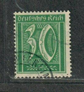 Germany Sc#165 Used/VF, Cv. $325