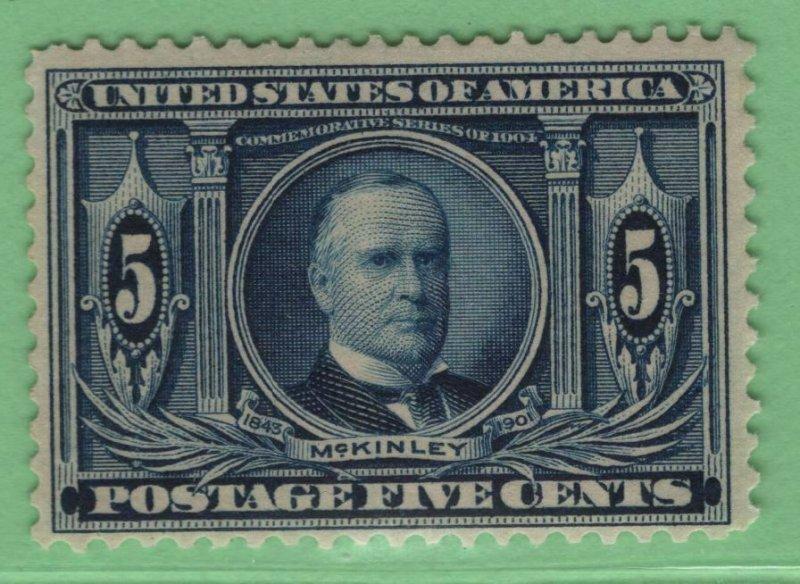 $US Sc#326 M/NH/F+, Cv. $180