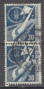 COLLECTION LOT # 1169 GERMANY #701 IN PAIR 1953 CV=$32