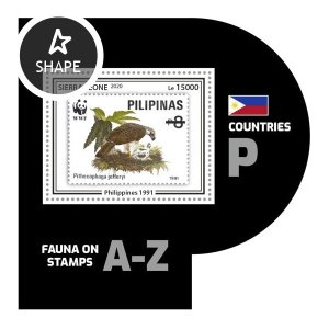 SIERRA LEONE - 2020 - Fauna on Stamps - Perf Souv Sheet #7 - Mint Never Hinged