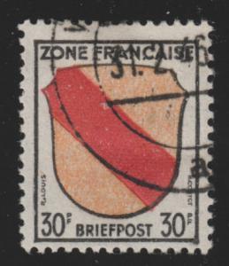 Germany 4N10 German Briefpost 1946