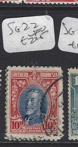 SOUTHERN RHODESIA  (P1310B) KGV  10D      SG 22    VFU