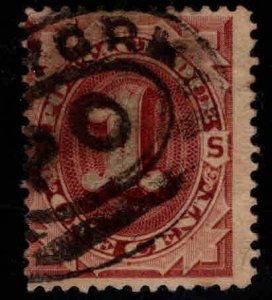 USA Scott J1 Used Postage Due New York cancel