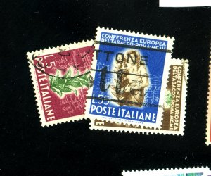 ITALY #544-6 USED VF Cat $35