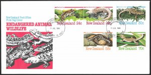 New Zealand First Day Cover [7787]