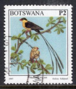 Botswana 634 Bird Used VF
