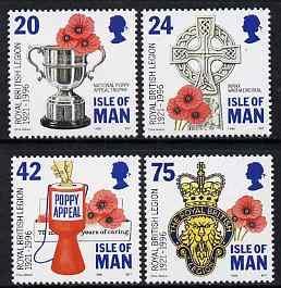 Isle of Man 1996 75th Anniversary of Royal British Legion...