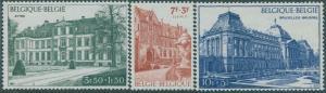 Belgium 1971 SG2245-2247 Belgica buildings set MNH
